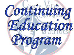 Check out our Continuing Education Program!
