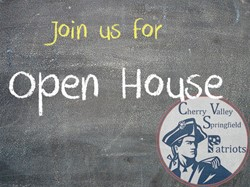 Join us for Open House this Wednesday