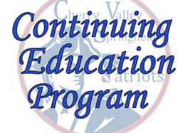 Check out our Continuing Education Program