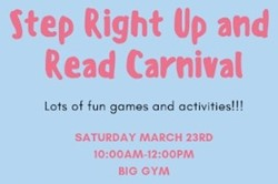 Step Right Up and Read Carnival