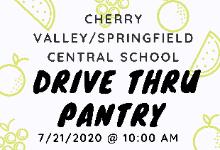 Drive Thru Pantry