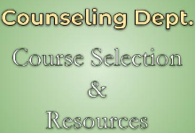 Course Selection & Resources