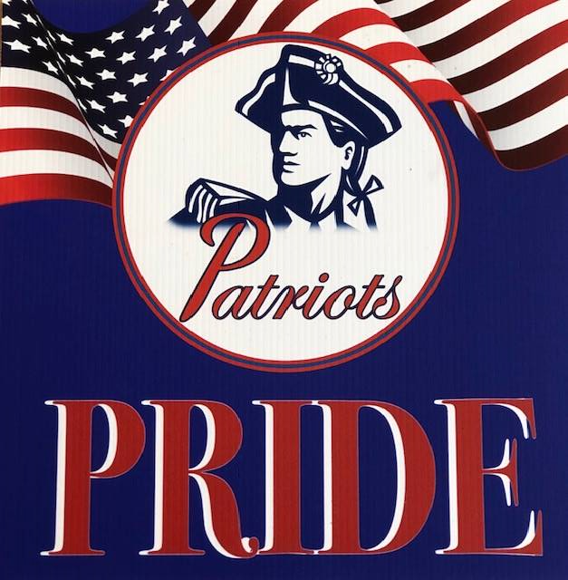 Patriot Pride sign