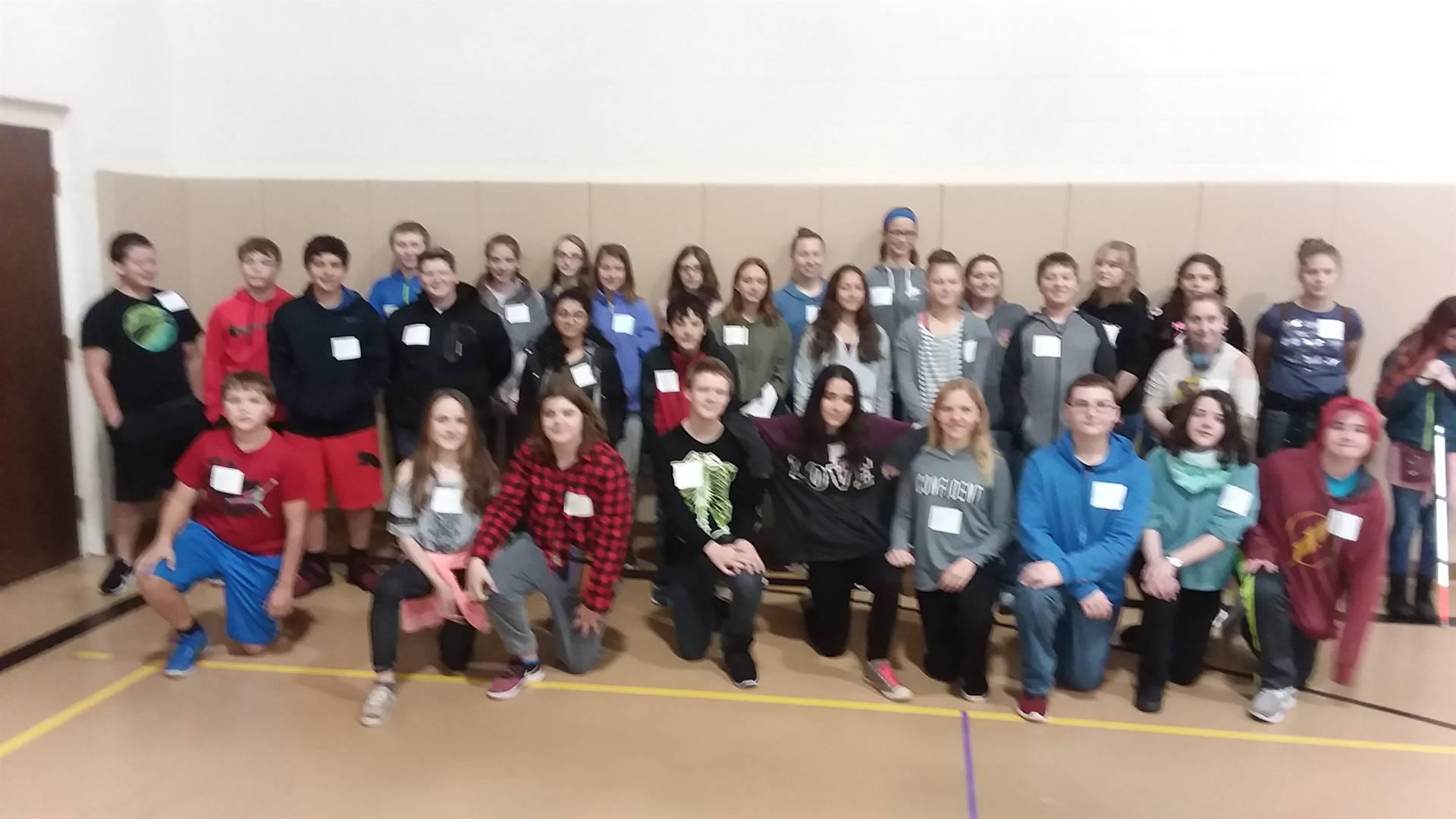 8th grade career fair at OAOC