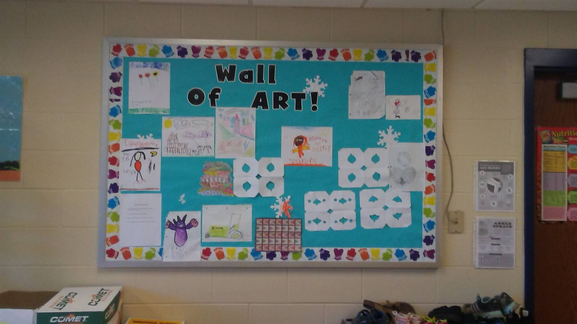 Wall of Art!