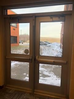 guidance office exterior door