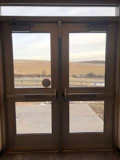 middle school exterior door
