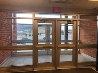 elementary exterior door