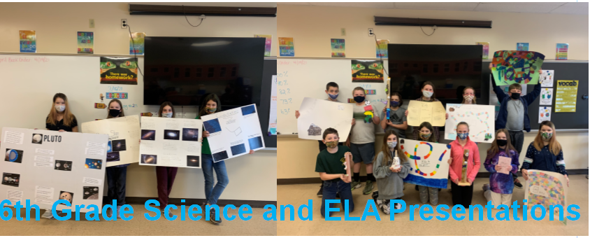 6th Grade Science and ELA presentations