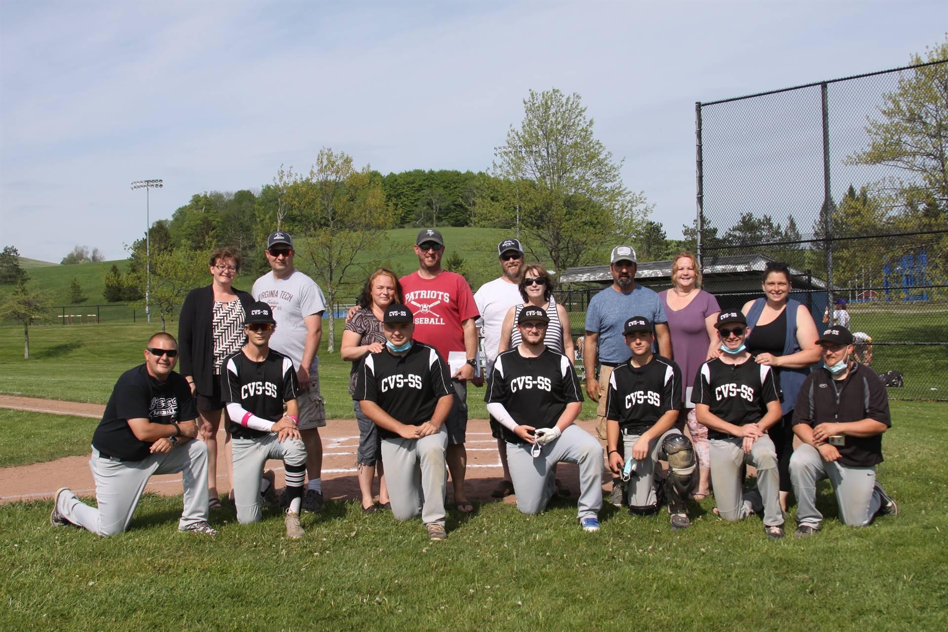 Varsity Baseball Seniors 2021